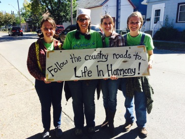 LIH Team with Country Roads Sign