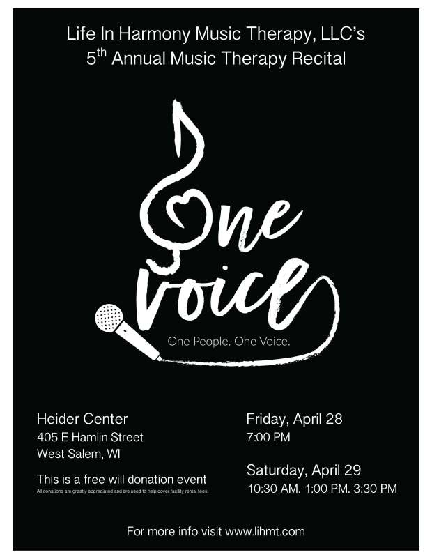 Recital 2017 Flyer