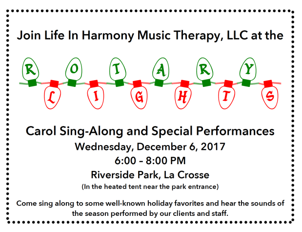 Rotary Lights Caroling Night 2017 Flyer