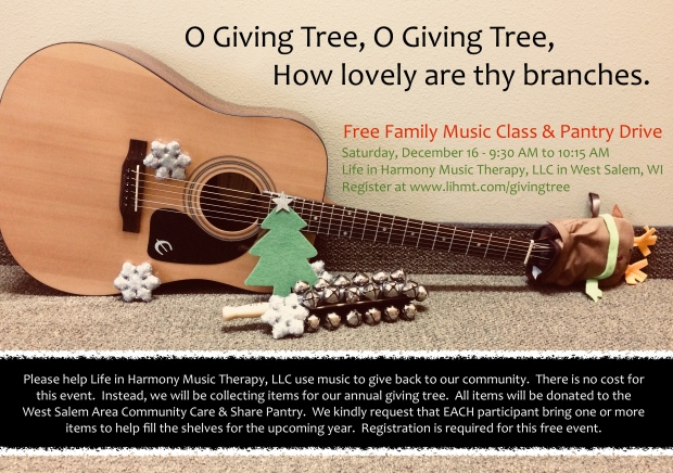 O Giving Tree 2017 Flyer